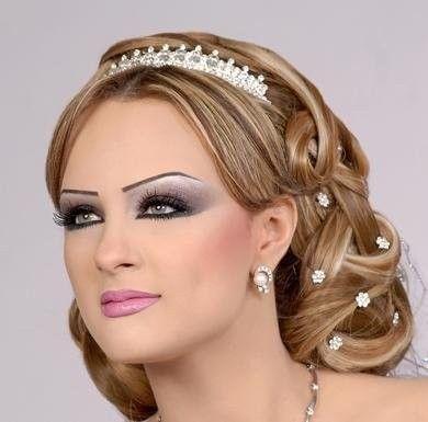 Coiffure de fete libanaise